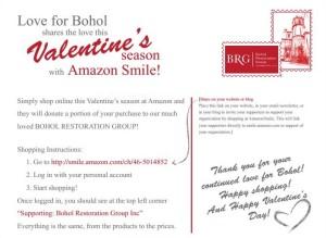BRG - Love for Bohol AmazonSmile - Flyer