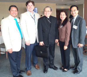 The Filipino Reporter - BRG Meeting with Archbishop Auza